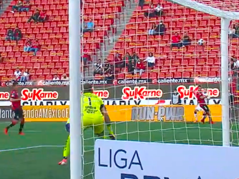 Video: Baeza asiste para el golazo de la fecha en la Liga MX