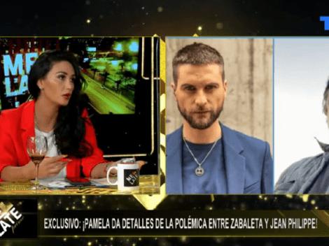 Pamela Díaz responde a dichos de Zabaleta que molestaron a Jean Philippe
