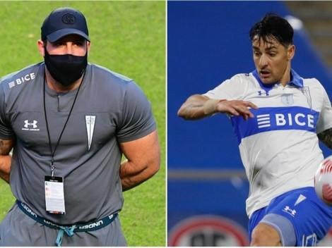 """Zampedri y mocha con Poyet jr: """"Soy futbolista, no boxeador"""""""