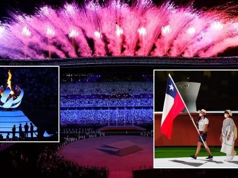 Mailliard representa a Chile en espectacular clausura de Tokio 2020