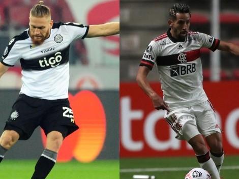 Olimpia y Flamengo animan la ida de cuartos de Copa Libertadores: Día y TV