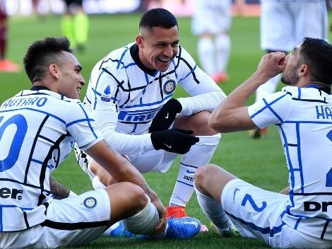 ¿Alexis Sánchez se queda solo en Inter?