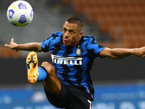Lesión de Alexis deja al ataque de Inter en calzoncillos