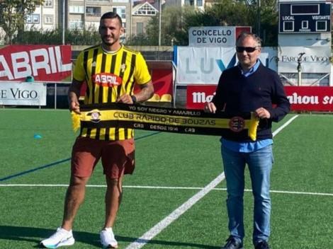 Cellerino vuelve a jugar en el fútbol español con 35 años