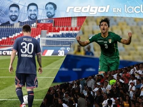De Messi al público en los estadios en RedGol en La Clave