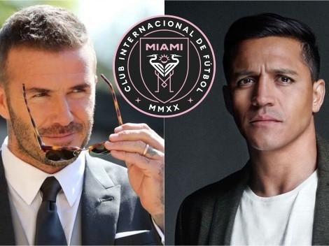 Beckham seduce a Alexis Sánchez con la MLS