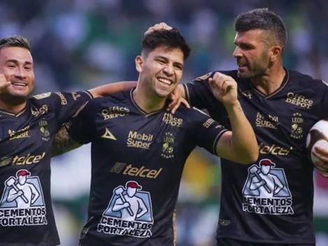 Goles chilenos: Dávila y Meneses celebran por el León