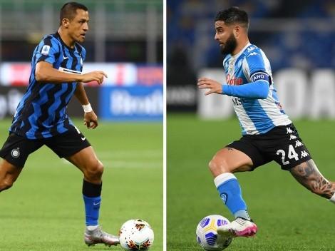 Inter ofrece 15 millones más Alexis por el pase de Insigne