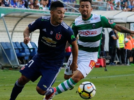Huevo Valencia suelta la pelota de Lolo Reyes y Gallegos