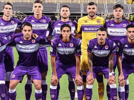 Pulgar fue titular en la goleada de la Fiorentina en la Copa Italia