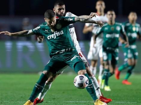 Horario: Palmeiras de Benjamín Kuscevic buscará avanzar a semifinales frente al Sao Paulo de Dani Alves