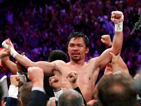 Pacquiao regresa al ring para medirse ante el campeón wélter, Yordenis Ugás