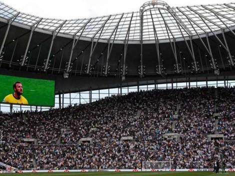 """Hinchada del Tottenham canta en el estadio: """"¿Estás mirando Harry Kane?"""""""