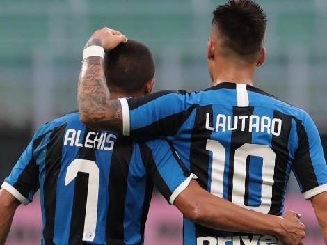 El Inter de Milán se queda sin delanteros