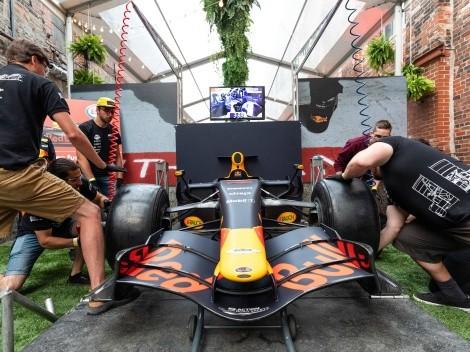Simulador de Pit Stop de Red Bull llega a Patio Bellavista