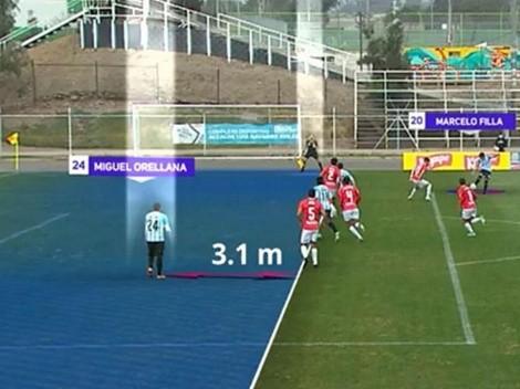 ¡Tres metros adelantado! Árbitro valida insólito gol de Magallanes
