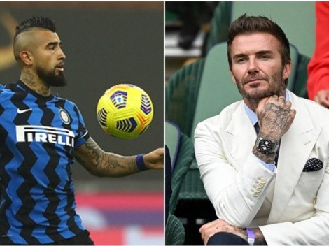 Arturo Vidal rechaza al Inter Miami pero Beckham no se rinde
