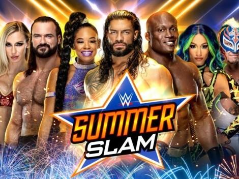 ¿A qué hora comienza WWE: SummerSlam 2021?
