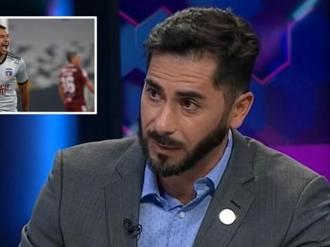 """Johnny: """"Colo Colo está llevando las banderas del fútbol chileno"""""""