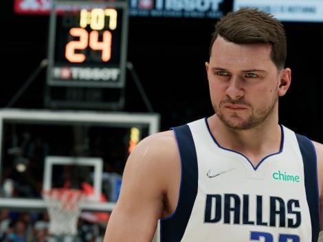 NBA 2K22 revela su diez mejores jugadores