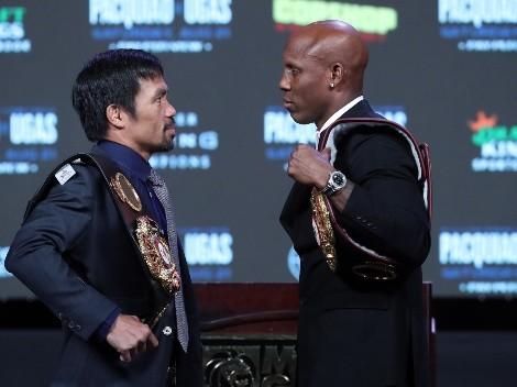 Horario: Pacquiao busca el triunfo ante Ugás en su regreso al boxeo