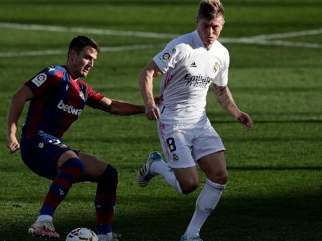 Horario: Real Madrid buscará seguir ganando en La Liga ante el Levante