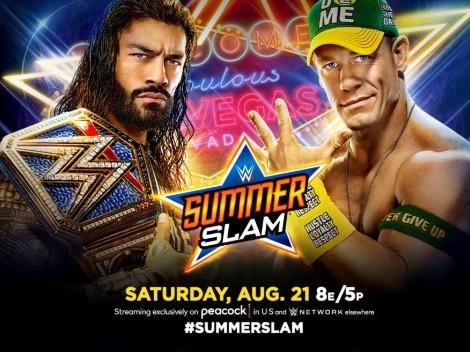 WWE: SummerSlam 2021: Cartelera, horario y transmisión