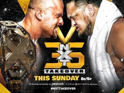 NXT Takeover 36: Cartelera, hora y dónde ver el evento de la marca de desarrollo de la WWE