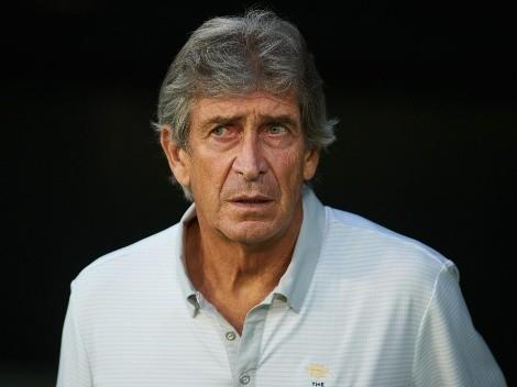 Manuel Pellegrini se enoja por el esquema ultra defensivo del Cádiz de Alarcón