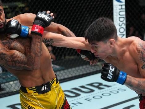 """""""¡Lo logramos!"""": Bahamondes habla tras su triunfazo en UFC"""