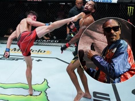 ¡Notable! Patada de Bahamondes deja loco  a Snoop Dogg