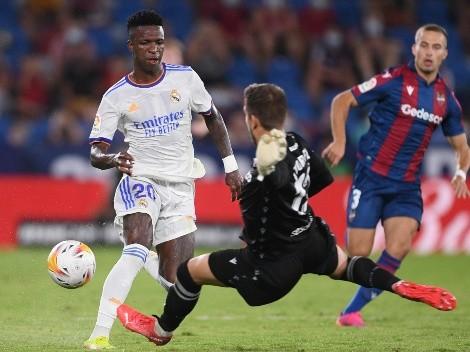Vinicius marca el gol de su vida ante Levante