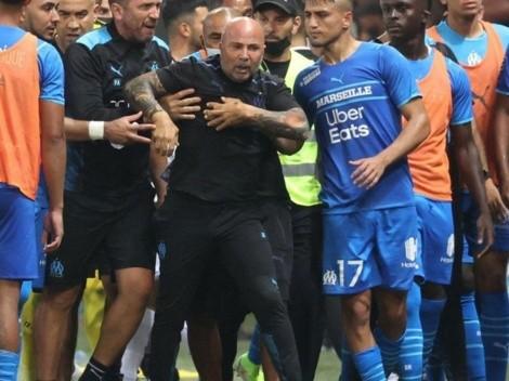 Sampaoli saca la voz tras violento episodio entre el Marsella y Niza