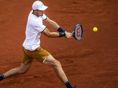 Nicolás Jarry asciende en el ranking ATP