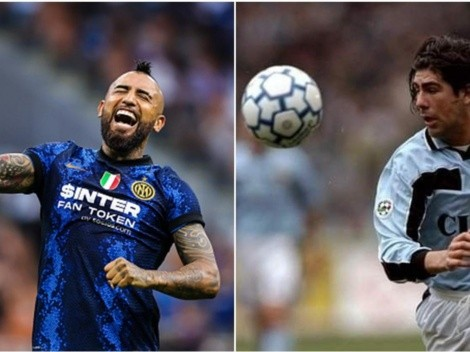 Vidal supera récord goleador de Marcelo Salas en el Calcio