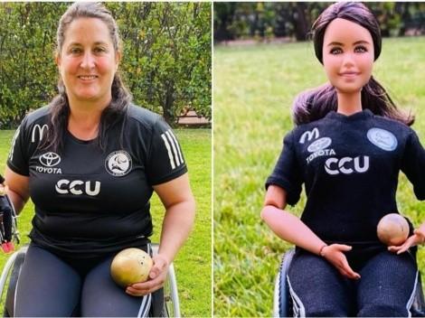 Lanzan Barbie inspirada en la deportista chilena Fran Mardones