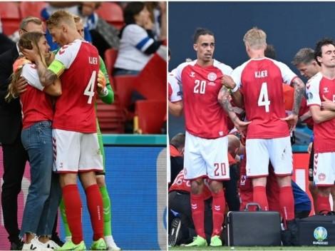 La UEFA premia a Kjaer y a los médicos que salvaron a Eriksen