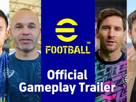 eFootball presentó sus cambios con un trailer gameplay