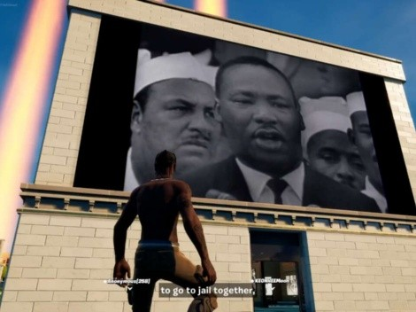 Fortnite le rinde especial homenaje a Martin Luther King