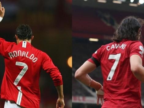 Cavani o Cristiano: ¿Quién usará la número 7 del United?