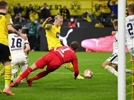 Haaland la rompe con gol agónico en triunfo del Dortmund