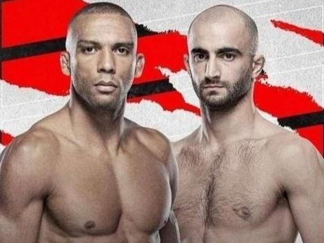 UFC Vegas 35 enfrenta a Barboza y Chikadze en el evento central por peso pluma