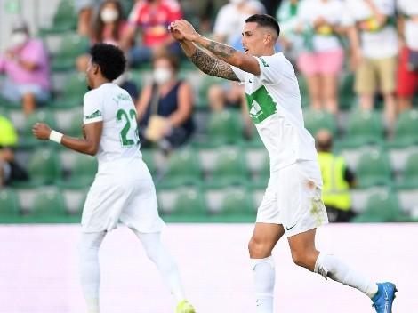 Roco marca gol para Elche y en empate frente a Sevilla