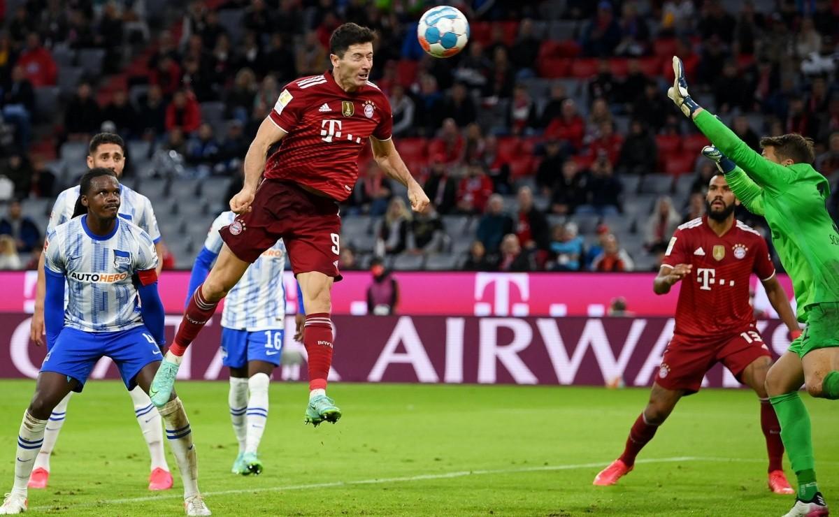 Bayern Múnich vs Hertha Berlín | RESUMEN, RESULTADO y GOLES por la  Bundesliga