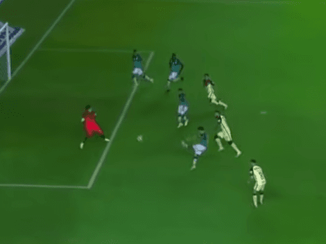 Video: ¡Gol chileno! Dávila le da el empate al León ante América