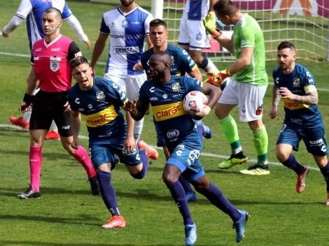 Waterman salva la tarde: Everton empata con Antofagasta