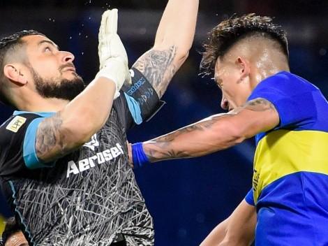 Boca choca con un Gabriel Arias notable