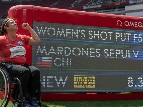 Pancha Mardones gana la bala con récord mundial en Tokio 2020