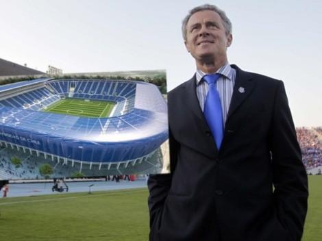Revelan grave error que impidió a la U construir su estadio propio