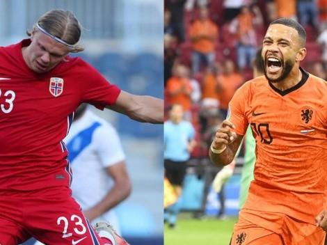 Horario: Noruega recibirá a los Países Bajos en las Eliminatorias Europeas